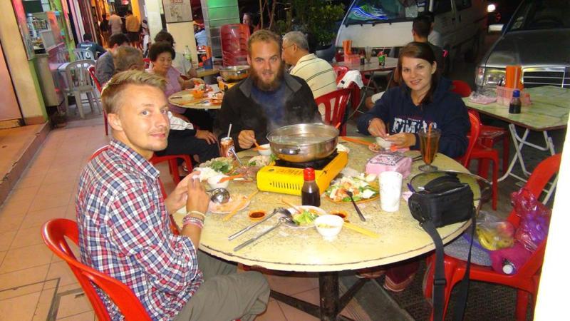 Cameron highlands, malaysia, trekking, hiking, til fods, chinese, hot pot, kinesisk