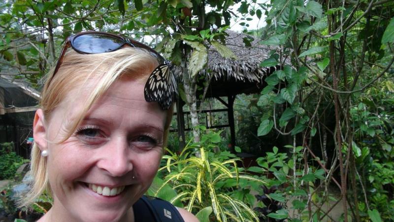Bohol, filippinerne, sommerfugle park