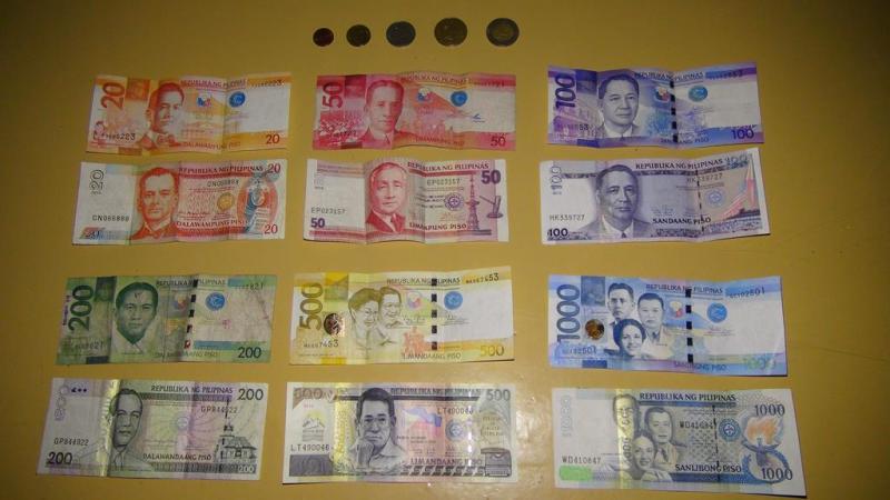 filippinerne, penge, pesos