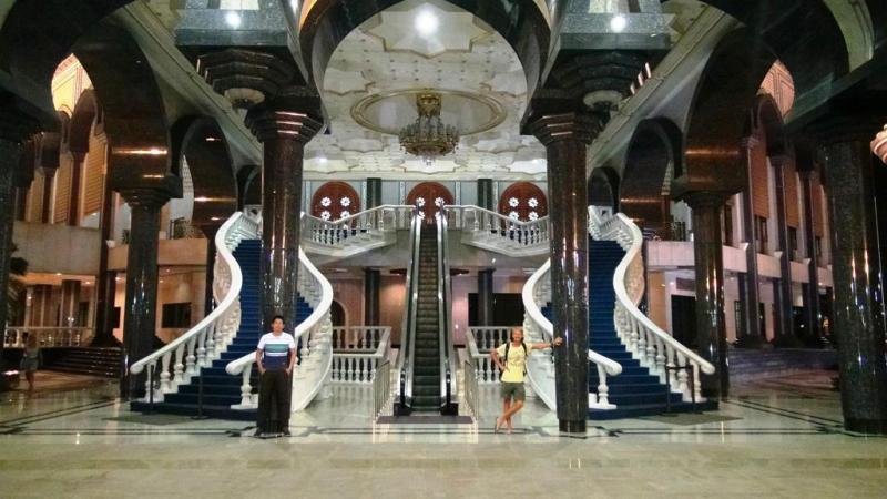 Jame'Ars Hassanil Mosque, Bandar Seri Begawan, BSB, Brunei