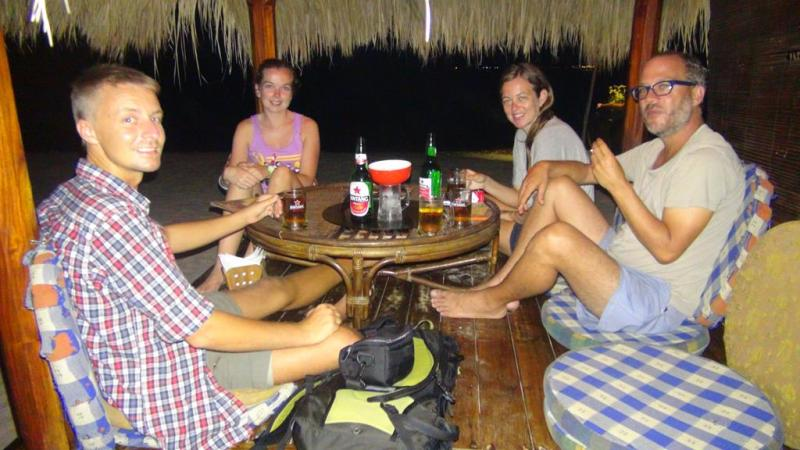 Gili Trawangan, Gili T, beach, strand, party