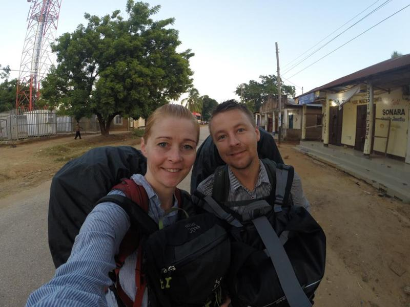 Backpacking Afrika