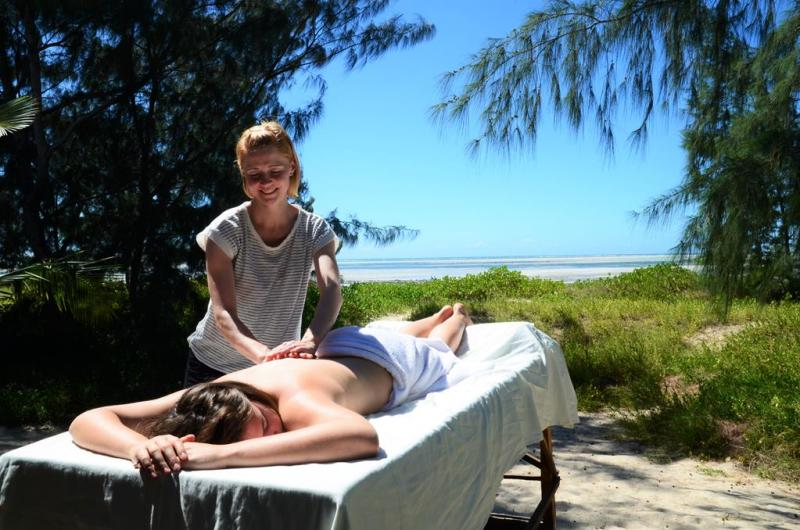 nZuwa Lodge, massage, pemba, Mozambique