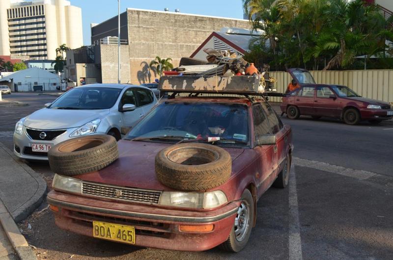 Lidt anderledes outback bil!