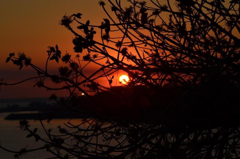Solnedgang over Darwin
