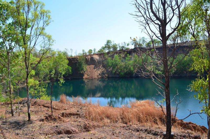 Smuk natur i området omkring Groove Hill hotel og Emerald Springs