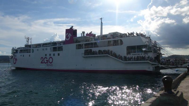 2GO færgen fra Puerto Princesa til Coron
