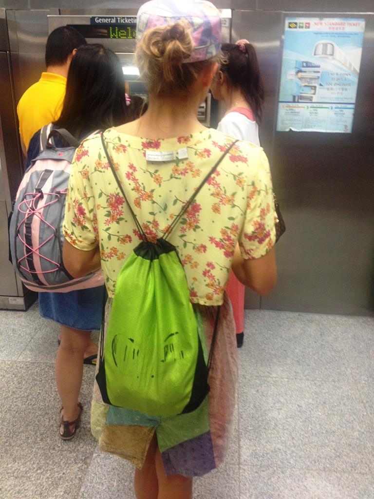 Det skulle vel aldrig være endnu en backpacker?!