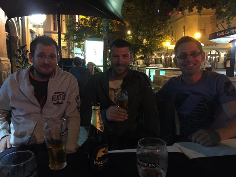 Sunday session med gutterne fra Canada!