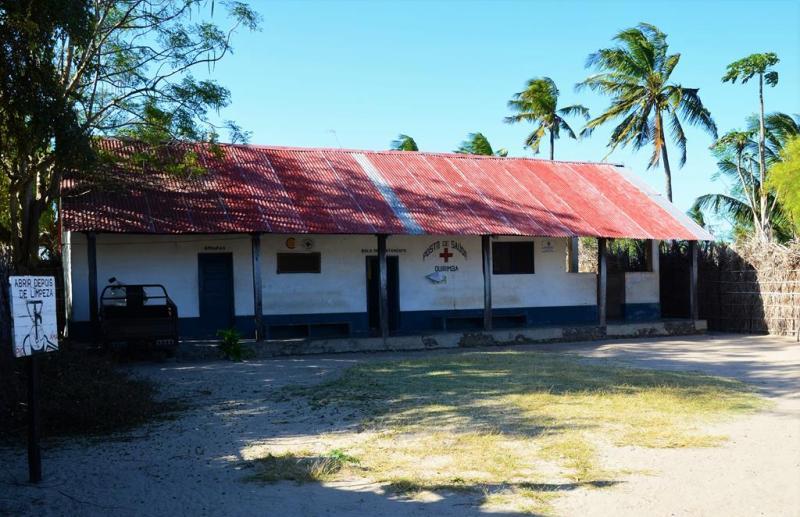 Lægehuset / sygehuset på øen