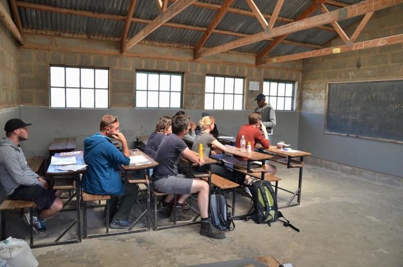 Lesotho klasse værelse