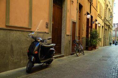 Scooter, Italien, Cinque Terra