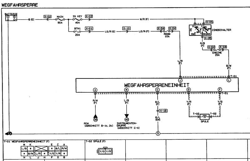 99 mazda miata wiring diagram
