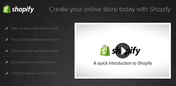 crear tiendas on line shopify