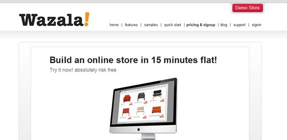 crear tiendas on line wazala
