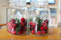 Mason Jar Decorating Ideas for Christmas   Inhabit Blog