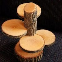 21 Homemade Log Candle Holders | Inhabit Zone