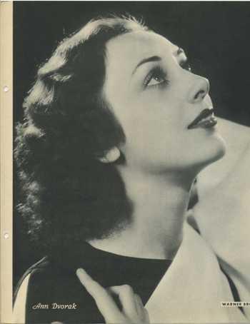 1934 Ann Dvorak Dixie Premium Photo