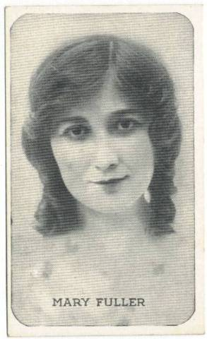 History through Sales: Trading card of early film star Mary Fuller