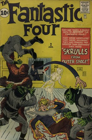 Issue number 2 of The Fantastic Four