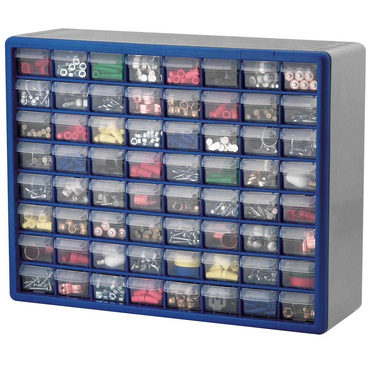 Craft storage drawers plastic -  Craft Storage Drawers Akro Mils 10764 64 Drawer Plastic Download