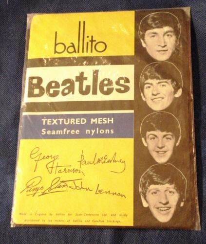 Vintage Beatles Ballito Nylons