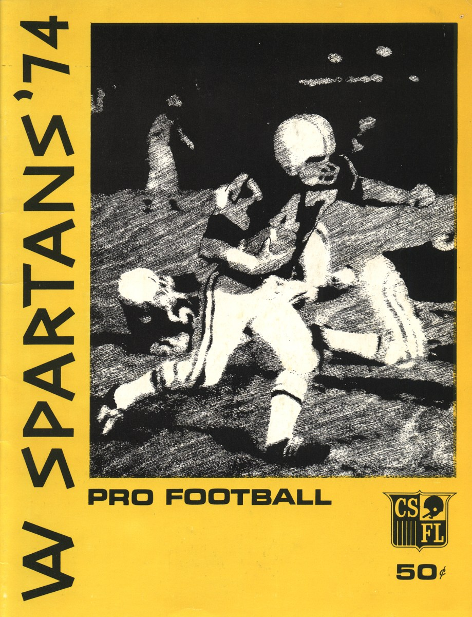 Vintage Central States Football League (CSFL) Yearbook