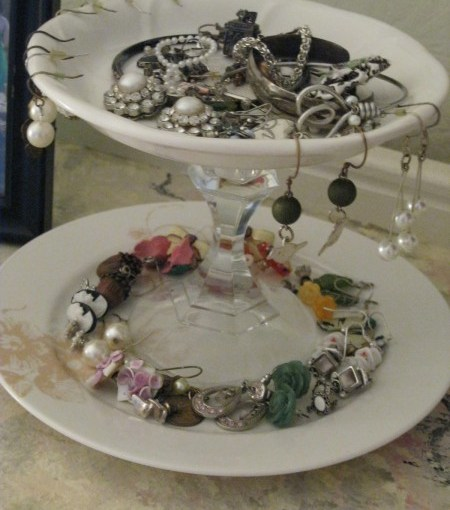 DIY China Jewelry Display