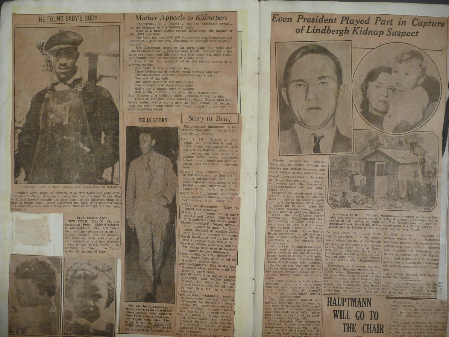 How to scrapbook newspaper clippings - The