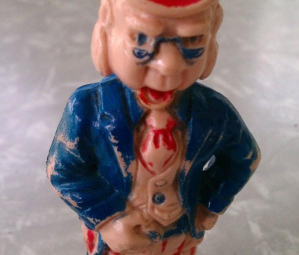 vintage tee-vee howdy doody puppet toy