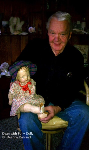dean with polly dolly