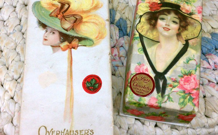 Sweet Antique Candy Boxes