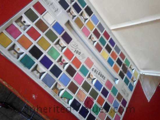 vintage paints 100 colors