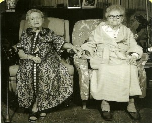 Two old women friends