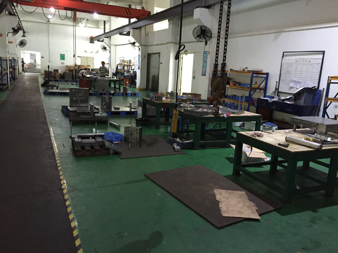 New Injection Molding Factory Layout