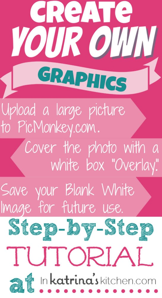 PicMonkey Mondays Creating Graphics and Printables {Tutorial} - create graphics
