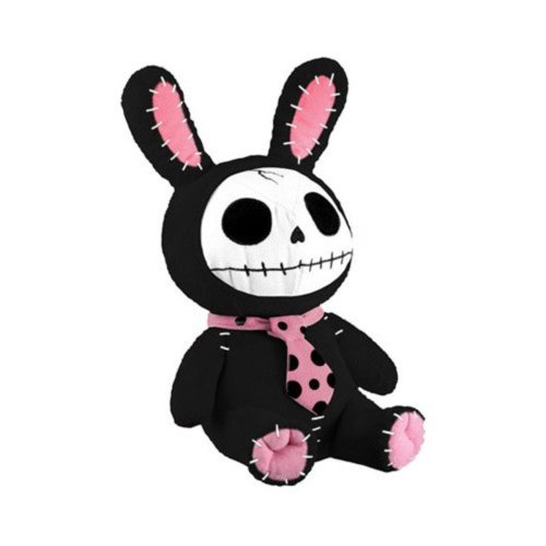 Furrybones Black Bun Bun Plush by Summit Collection