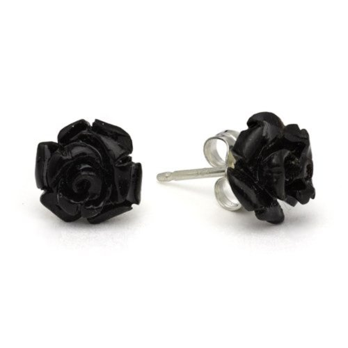 8-Black-Buffalo-Horn-Tiny-Roses-by-Rocklove