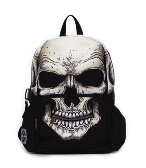 Mr. Peterson Skull Backpack by Mojo Backpacks