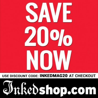 InkedShop.com-SAVE 20% NOW