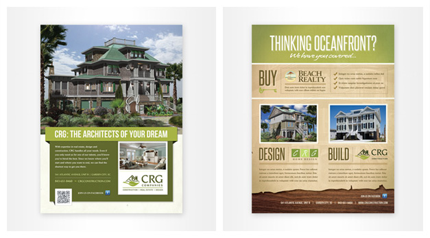 Myrtle Beach Custom Printing, Flyer, Brochure  Menu Design - House Advertisements