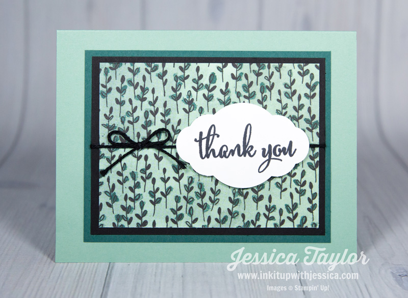 Thank You Cards Archives - Ink it Up With Jessica Card Making