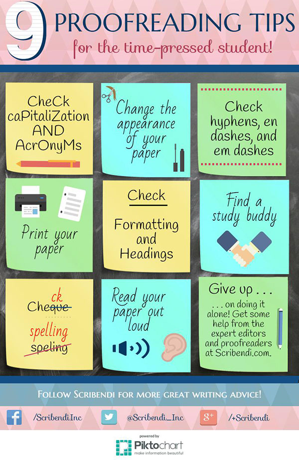 9 Proofreading Tips for Revising Your Essay