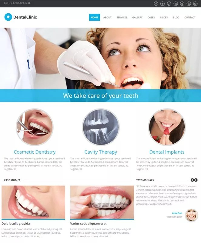 20+ Best Responsive Doctor WordPress Themes 2018 InkThemes - doctor office website template