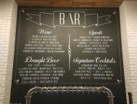 Chalkboard Menus for Restaurants, Coffee Shops, Breweries