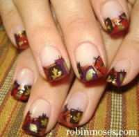 How To Do Autumn Leaves Nail Art (30 Examples)