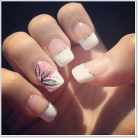 22 Awesome French Tip Nail Designs