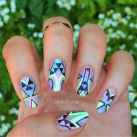 45 Spectacular Neon Nail Designs for 2017