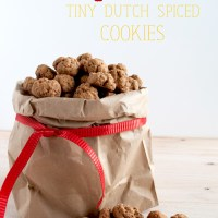 Pepernoten - tiny Dutch spiced cookies