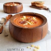 Salmorejo - chilled tomato soup